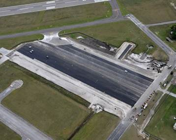 Southwest Apron Reconstruction at Lakeland Linder Regional Airport by Amherst Consulting
