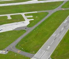 Taxiway B Extension at Lakeland Linder Regional Airport by Amherst Consulting